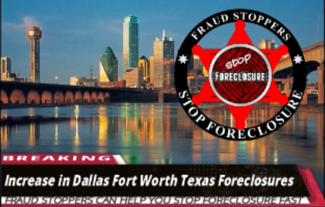 Increase in Dallas Fort Worth Texas Foreclosures