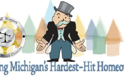"""Michigan will soon be out of """"Hardest Hit"""" funds for homeowners facing foreclosure"""