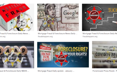 Mortgage Fraud Foreclosure Fraud Audits Daily News Update ⋅ April 30, 2021